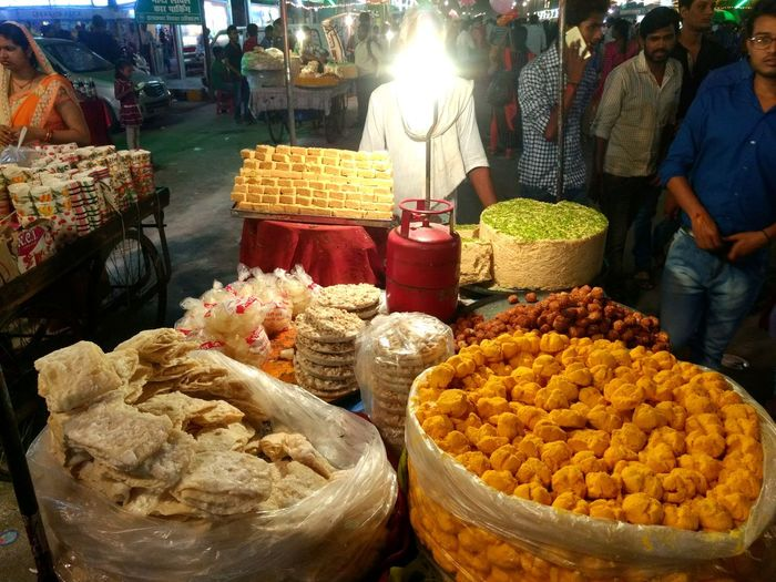 fair at civil lines, Coloursofindia Colours Colours Of The Night Streetfestival Localfood Food And Drink Market Stall Dusshehra NavratriIndia Colors Of Life EyeEm Selects EyeEmbestshots EyeEm Best Edits Allahabad The Week On EyeEm EyeEm Evening Outdoors Localfare Sweets Assortedfoods