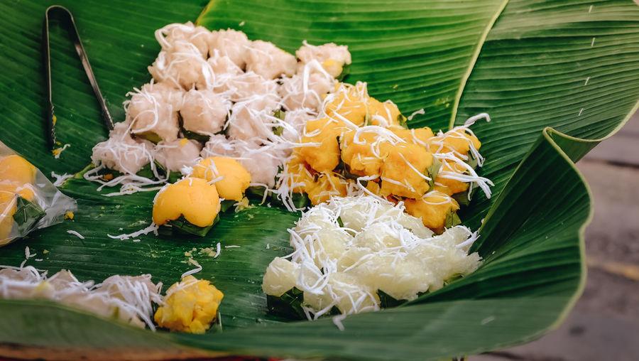 Close-up Food Food And Drink Green Color Leaf Street Food Thai Food Thaifood