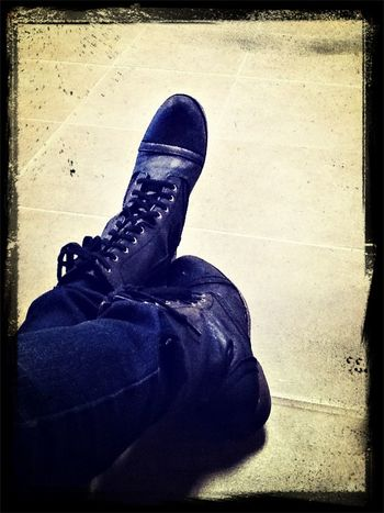 Hallway seems empty. So I guess my boots will have to do...for now.
