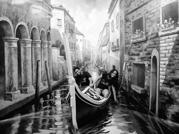 Gondola - Traditional Boat Nautical Vessel City Gondolier Cultures Moored Water Canal Architecture Building Exterior Old Town