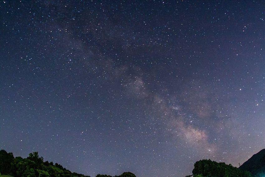 June Nightphotography My Town Milky Way Fukuoka,Japan