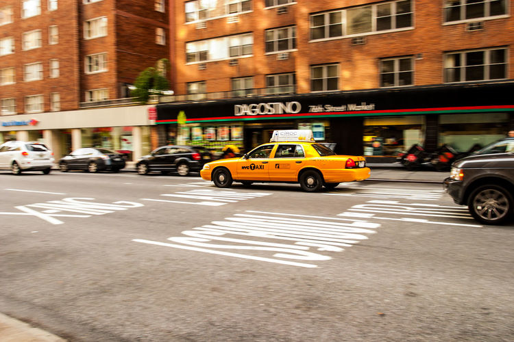 Car City City City Life City Street Mode Of Transport New York Taxi Traffic Transportation Yellow Cab