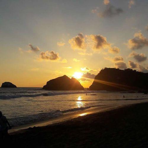 Hey ✌ Sunset Mazunte Enjoying Life Nature Photography Ocean Playa