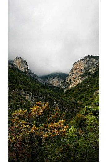 Foggy Day Cloudy Day Rainy Day Italy Toirano Liguria Magic Moments Mountains Sky Fun You And Me Nature Photo Picture Picoftheday Tree No People Beauty In Nature Outdoors Walking High Shooting
