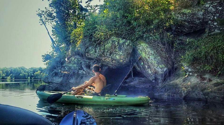 Kayak Fishing Kayak Boyfriend Cave