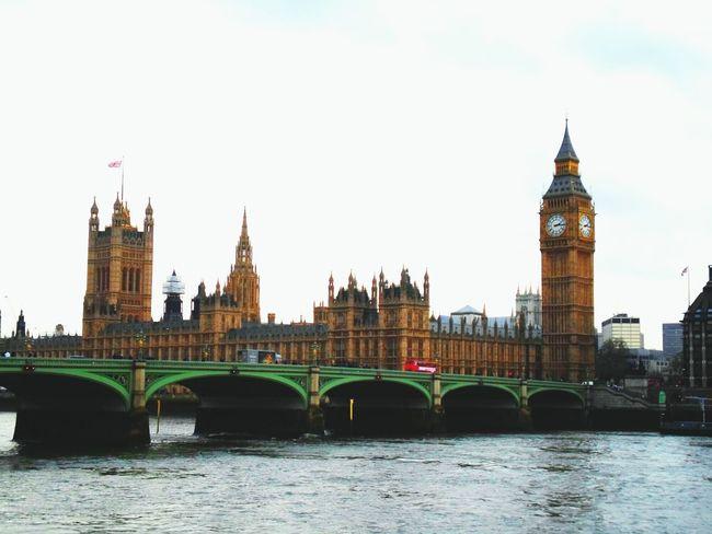 London Bigben Greatbritain Enjoying Life Enjoying The View Bridge View