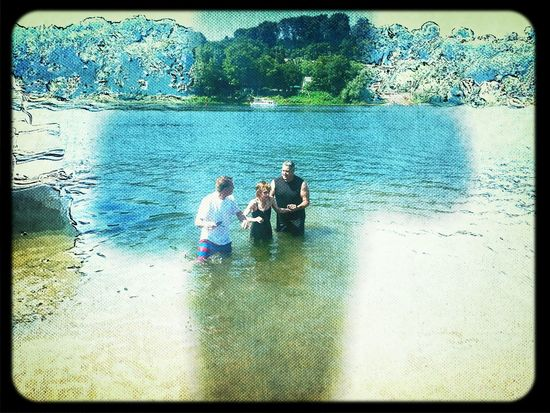 Baptized in the Allegheny River. Amen If we confess our sins, he is faithful and just to forgive us our sins, and to cleanse us from all unrighteousness. ♥ :-) 1JOHN 1:9 That's Me