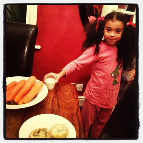 Ruby Insisting On One Carrot Per Reindeer