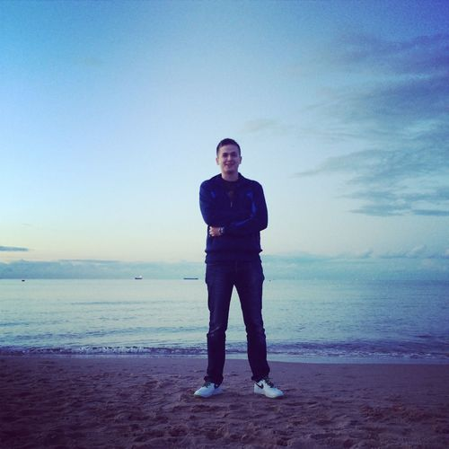 Being A Beach Bum Sunshine Sea Relaxing
