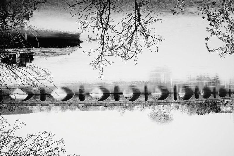 Black & White Architecture Urban Geometry Edirne Turkey Bridge Mericriver Merickoprusu