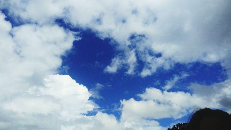 Céu azul Blue