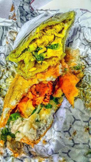 Chicken paratha and cajun burger for modnight snack :) Foodporndubai