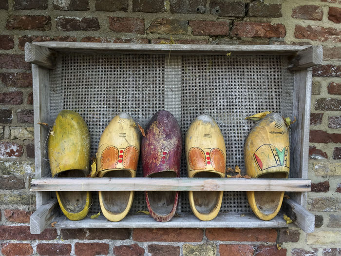 Wooden Shoes The Netherlands Art And Craft Close-up Day Holland❤ No People Outdoors Wooden Shoes