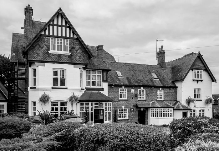 The Heart of England, High Street, Weedon, Northamptonshire Architecture Monochrome Photography Black And White Monochrome Northamptonshire Fujfilmxt10 Weedon Northampton Pubs Pubs