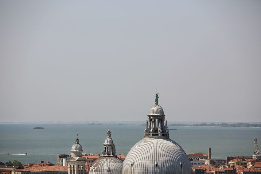 St Mark's Square St Mark's Tower St Mark's Square St Mark's Tower Venice Canals Venice, Italy Architecture Building Exterior Built Structure City Cityscape Day Dome Horizon Over Water Nature No People Outdoors Sea Sky Venice