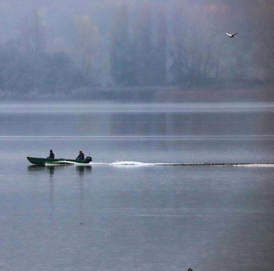 Fischer auf dem
