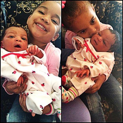 My Babyki Is A Big Sister #JaylaMariah