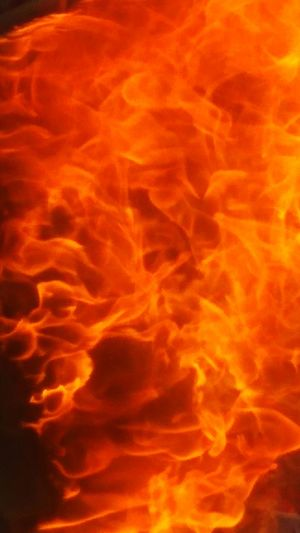 Inferno Red Flame Heat - Temperature Backgrounds Burning Abstract Smoke - Physical Structure Orange Color Close-up Fireball Forest Fire