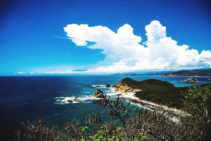 Los frailes Frailes Manabi Ecuador Mar