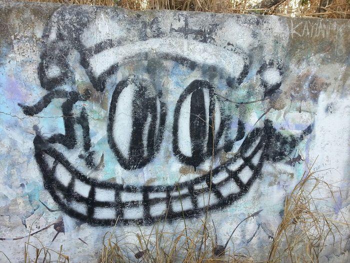 Hello World Street Art/Graffiti On A Hike Koko Head Trail Enjoying The Sights