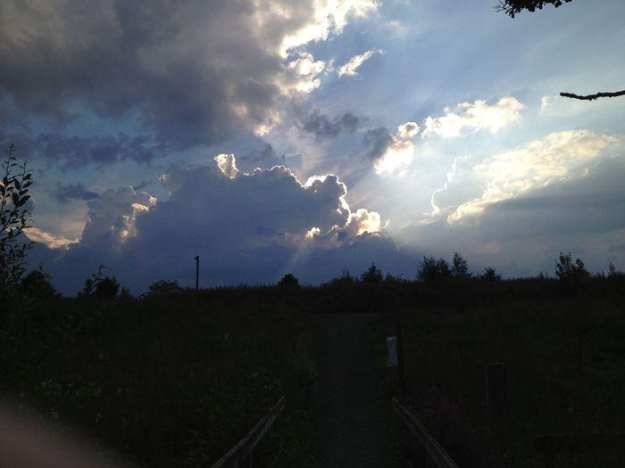 Fantastisk himmel ikväll :D