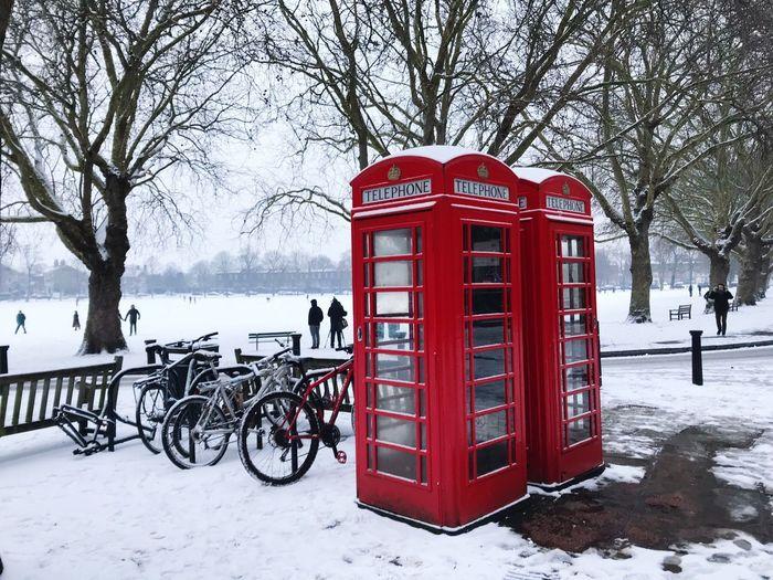 London Snowy