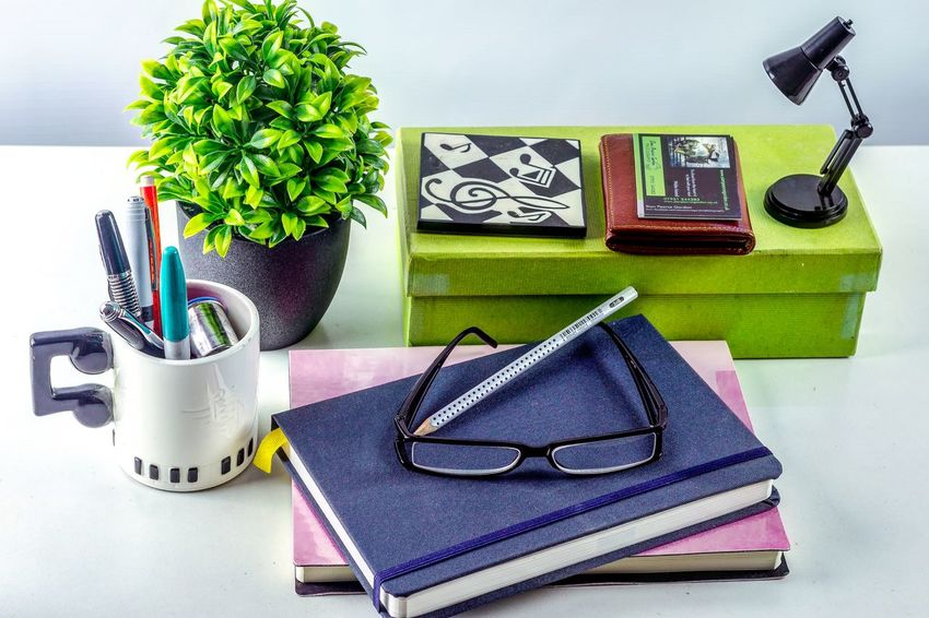 Desk Tidy. Textile No People Day Indoors  Desk Desk From Above Home Decor Home Office Working Place Working From Home Stationary Close-up Freshness Commercial Photography Product Photography