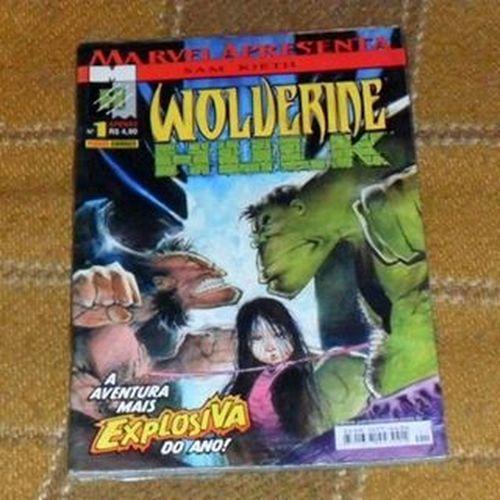 Wolverine/Hulk Wolverine Logan Hulk Samkieth marvelcomics comics quadrinhos hqs
