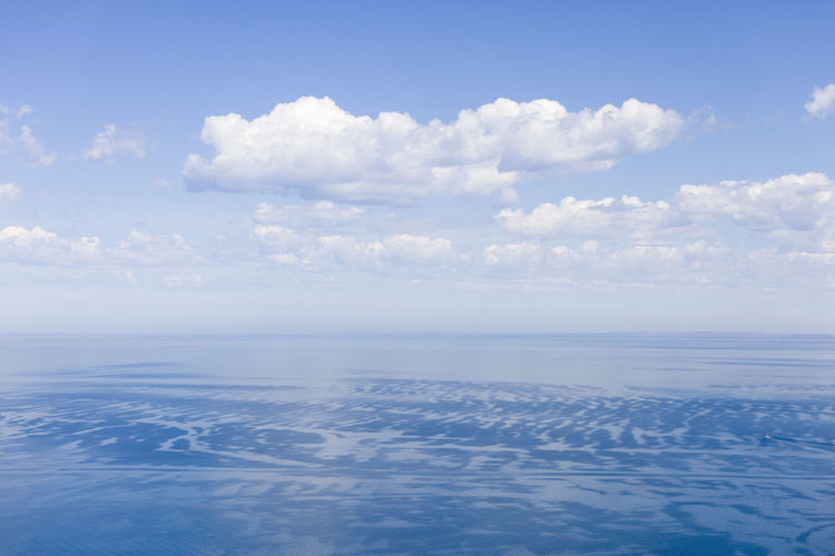 Beauty In Nature Blue Cloud - Sky Day Horizon Over Water Idyllic Landscape Nature No People Outdoors Scenics Sea Sky Tranquil Scene Tranquility Water