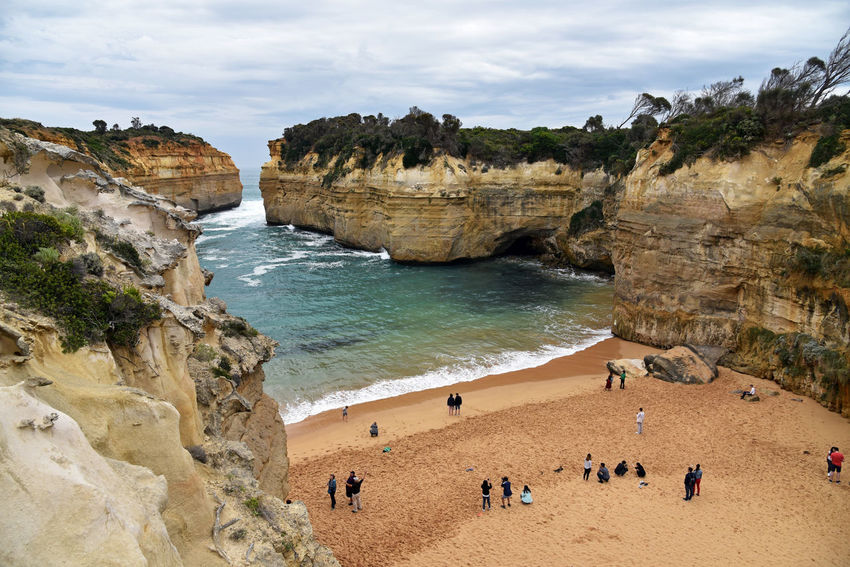 Lock Ard Gorge on the Great Ocean road in Australia Australia Great Ocean Road Beach Beachphotography Cliff Coast Nature Ocean Outdoors Physical Geography Rock Formation