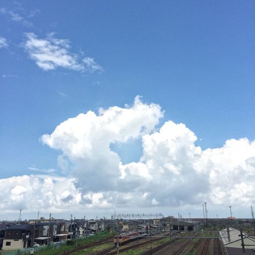 Blue Sky Clouds And Sky Japan Countryside