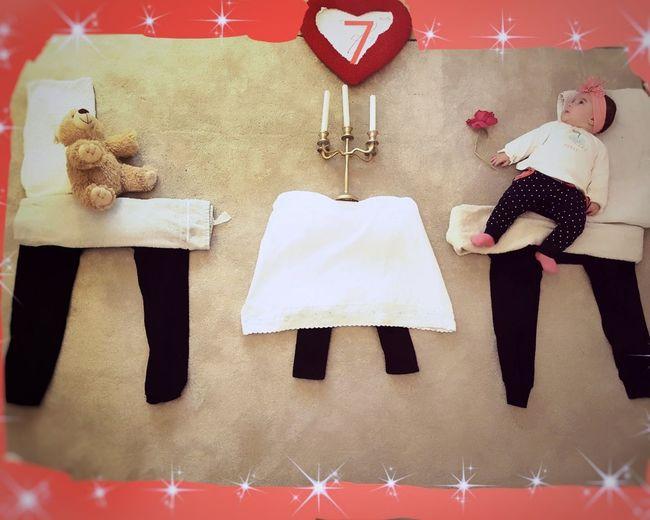"Food Baby Baby Girl Baby Art Carpet Art Diner Time  Diner Bear Teddy Bears Teddy Bear ""My first diner with my Teddy bear"""