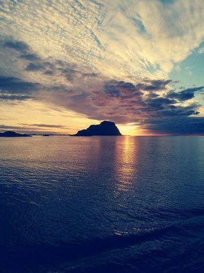 Sky Mirror Norway Sailorslife Natureporn Sunset Reflection Sky Horizon Over Water Cloud - Sky Shining