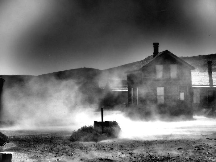 Windy Day Creepy Roadtrip USA Ghost Town First Eyeem Photo