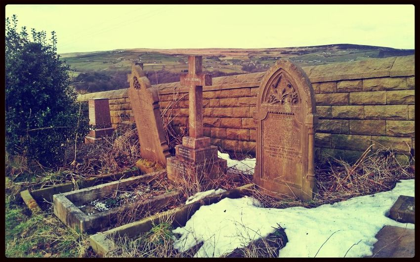 Spooky Church Graveyard.. Cemetery Graves English Countryside