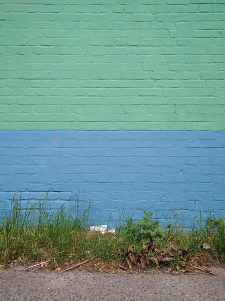Green And Blue Lines Nexus6P Paint Paint On Wall Simplicity VSCO Wall