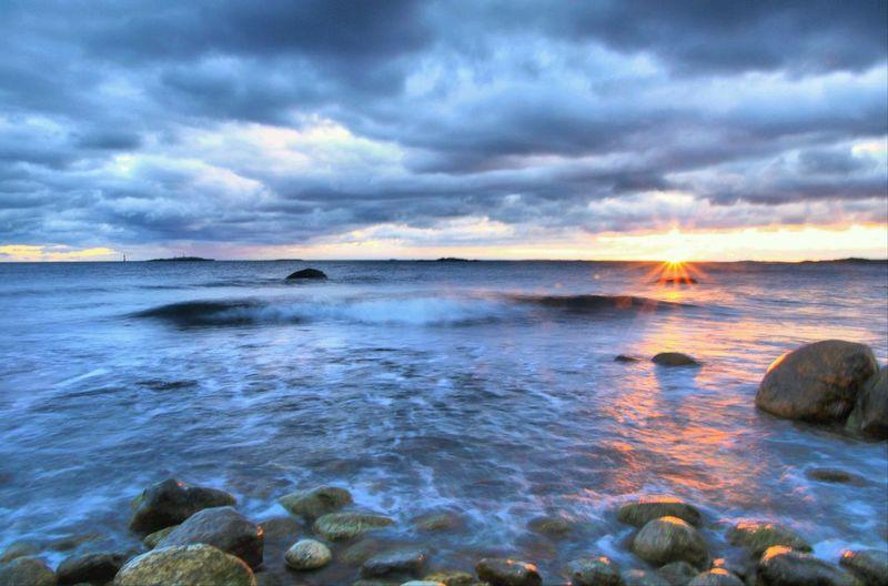 Ocean Water Sky