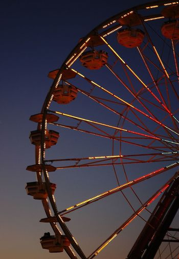 Amusement Park Ride Ferris Wheel Fun Outdoors Sky