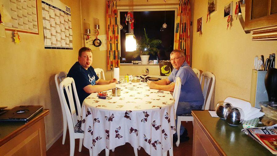 Far og søn hygge First Eyeem Photo