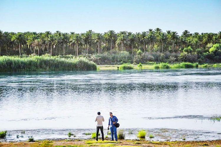 مدينة البغدادي غرب الانبار في العراق