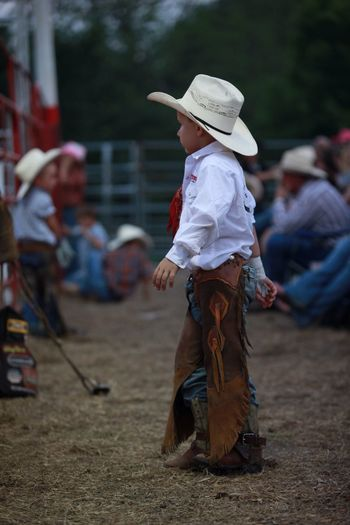 Rodeo Cowboylife Cowboys Dream Young Boy Chaps cowboy hat One Day