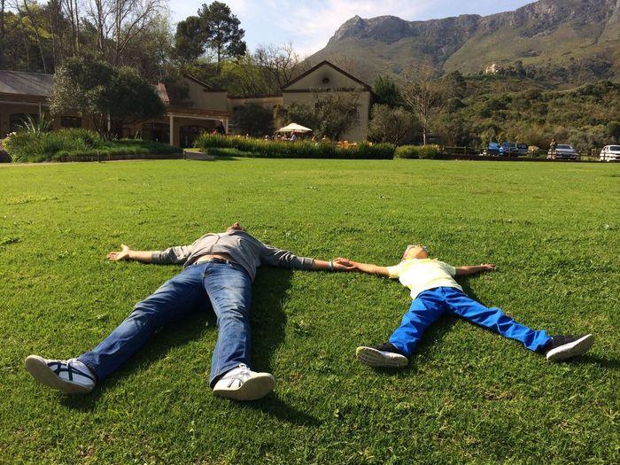 Stellenbosch Father & Son Green Happiness
