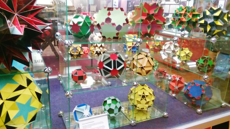 Polyhedra Check This Out Geometric Shapes Geometry ScienceMuseum LONDON❤