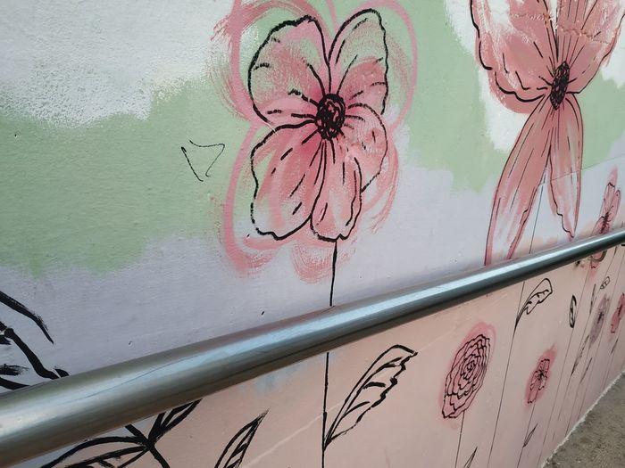 Flower draw in