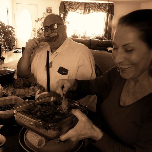 Friends and Good Memories Family Food Friends Meal Time? Memories Sharing Food Thanksgiving Turkey Day.