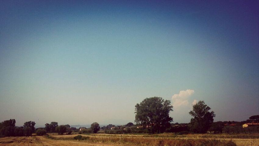 Italy Umbria Sky Sun
