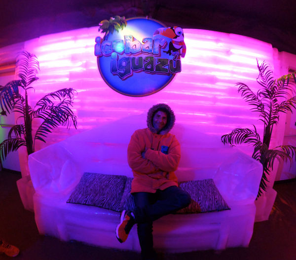 Ice Bar Iguazu Misiones, Argentina Thats Me  - 10° Multi Colored One Person One Man Only Men Adults Only Only Men Indoors  People Adult Technology Science Working Dj Space Cold Temperature Cold Drink Ice Armchair This Is Masculinity