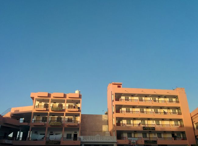 Building Exterior Sky Blue City No People