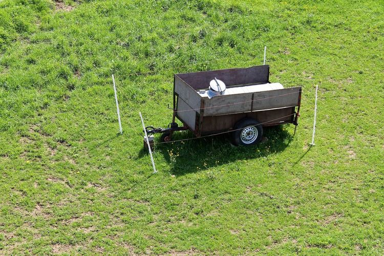 drinking water trailer for horses Agriculture Animal Drinking Water Animal Water Tank Drinking Water Tank Field Grass Tractor Trailer Watertank