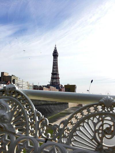 Blackpool North Pier Blackpool Promenade Blackpool Blackpool Tower Lancashire United Kingdom